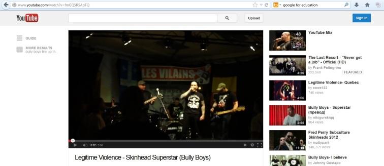 Bully Boys Cover Video