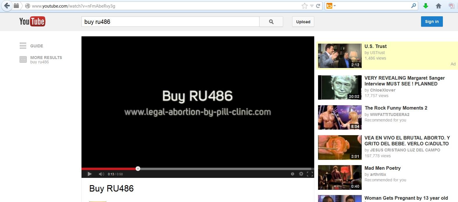 Youtube music video advertising youtube