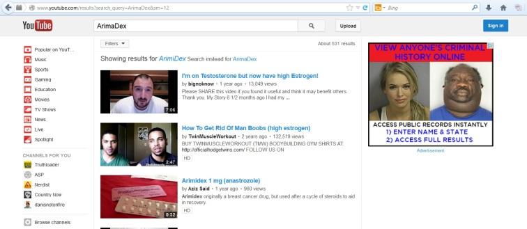 arimidex search