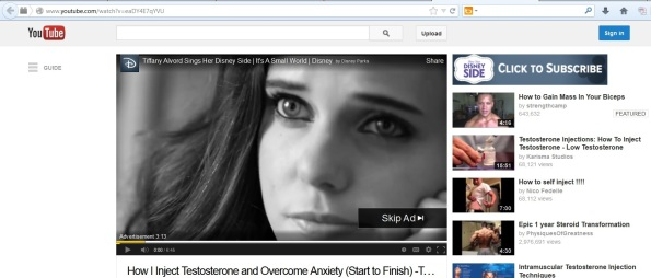 Tiffany Alvord Testosterone video