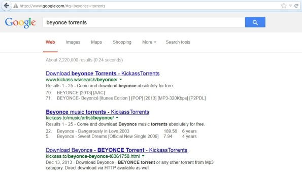 beyonce torrents