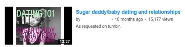 sugar baby 2