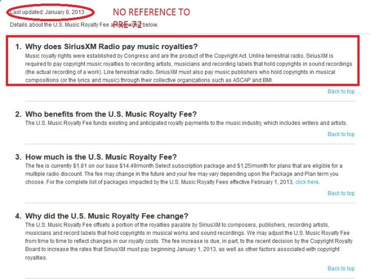 sirius music fee old 1