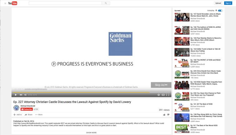 youtube goldman sachs