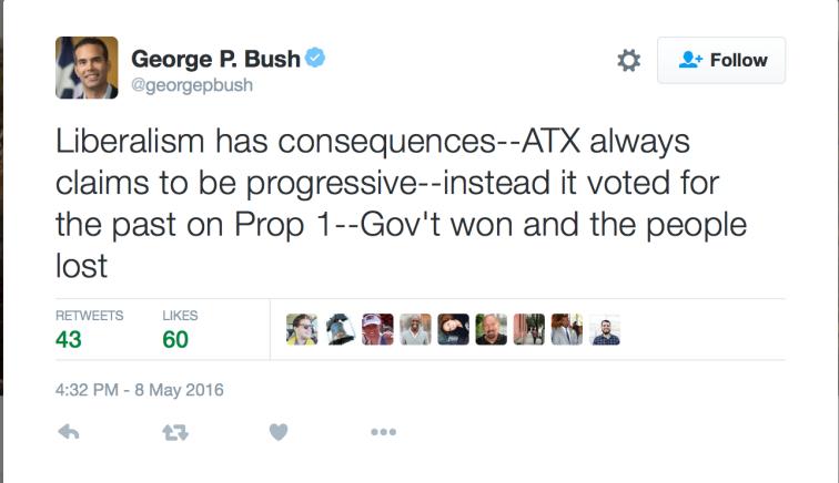 Bush Tweet