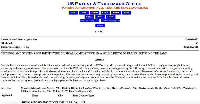 MRI Patent