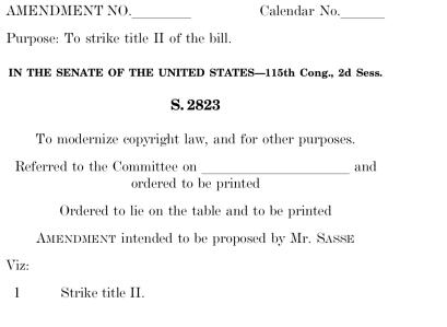 Sasse Amendement