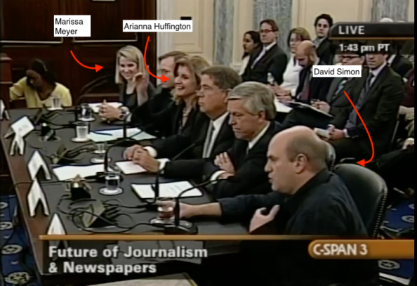David Simon Hearing