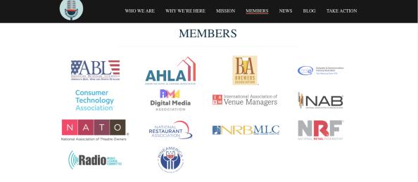 MIC Coaltion Members 2019