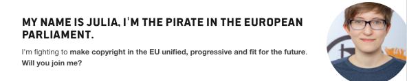 Julie I am the pirate